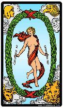 Carta del Tarot El Mundo significado