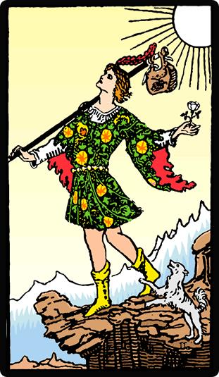 Significado de la cartas del Tarot el Loco