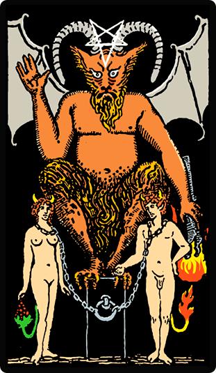 El Diablo - Significado en el Tarot