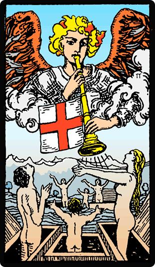 Significado de la carta El Juicio en el Tarot