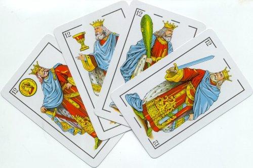 Tarot con cartas de la baraja española