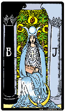 Significado Carta la sacerdotisa