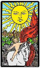 Carta El Sol en el Tarot