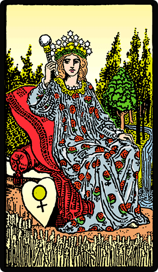 La Emperatriz significado tarot