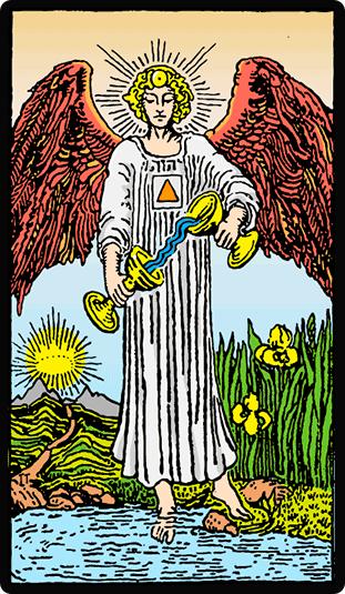 La Templanza. Significado de la carta del Tarot
