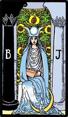 La Sacerdotisa significado tarot